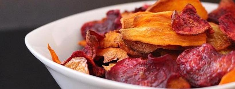 Gemüse-Chips – der farbige Snack fürzwischendurch