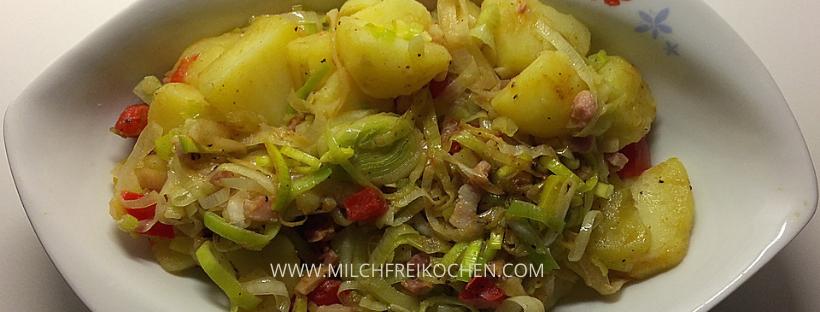 Lauchkartoffeln