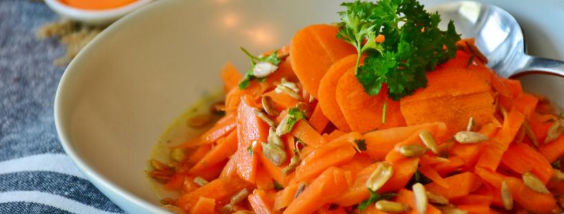 Karottensalat, gekocht