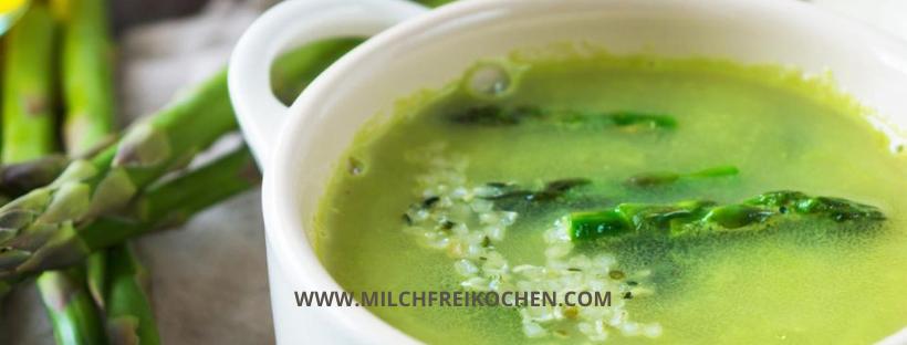 Grüne Spargelsuppe – gesund ohneMilch